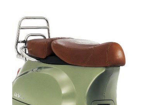 sitzbank piaggio f r vespa lxv 50 150ccm tobacco braun. Black Bedroom Furniture Sets. Home Design Ideas