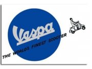 Grußkarte FORME Vespa - World finest Scooter L 155mm, B...