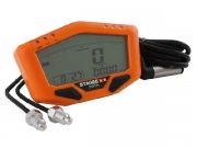 Tachometer Stage6 Orange Line, digitales Display,