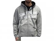 Zipped Hoody Oldschool, scootertuning is not a crime,...