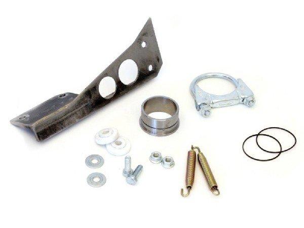 6mm Dichtung Auspuff//Auslass f/ür Vespa PK80-125 S//PK100-125XL//PK125//ETS//N//XL2 Abstand 56mm Stehbolzen